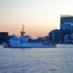 Coast Guard in fading light