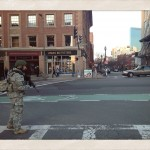 Newbury Street with SWAT team