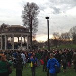 Peace gathering on Boston Common