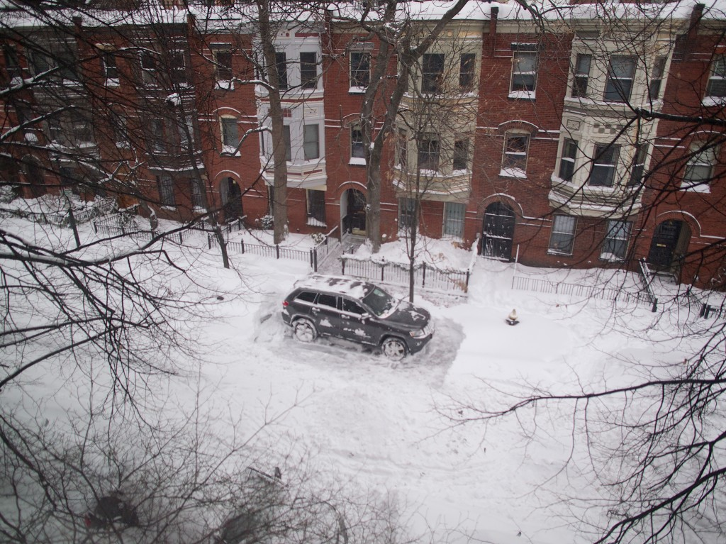 first on the block to dig out
