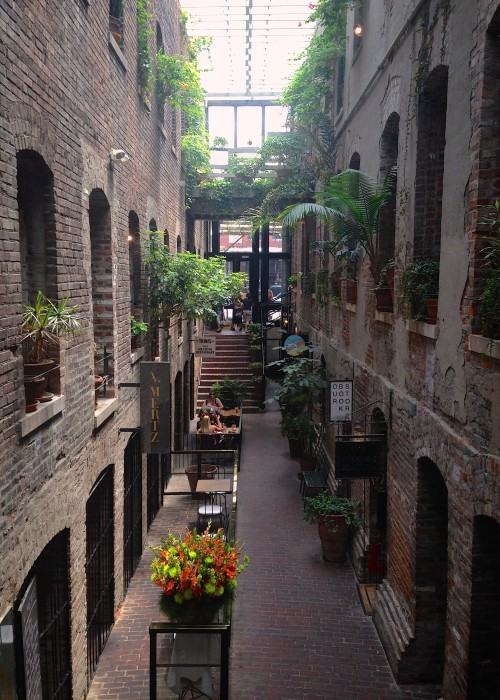 The Passageway. Old Market, Omaha