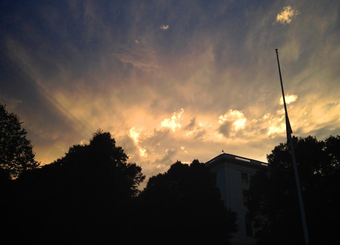 The Statehouse Sky