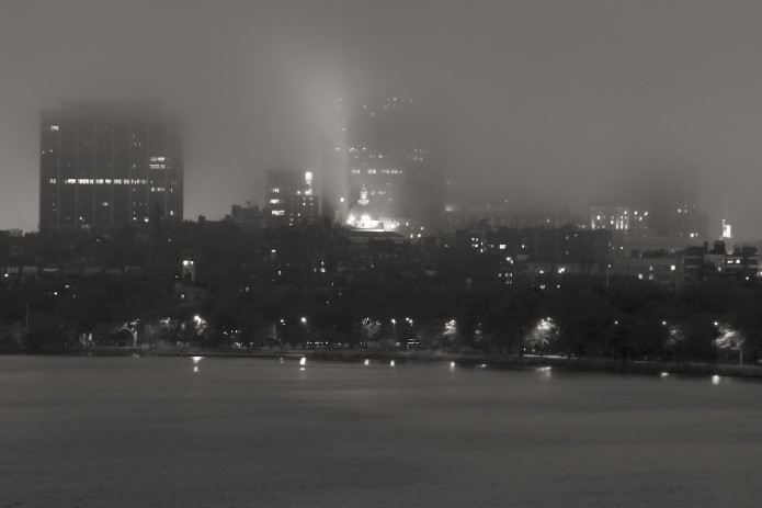 Foggy Boston (Beacon Hill)