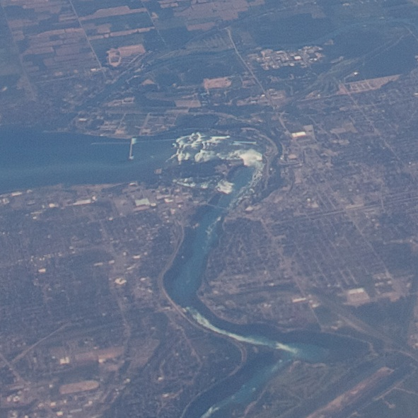 Niagra Falls from the air