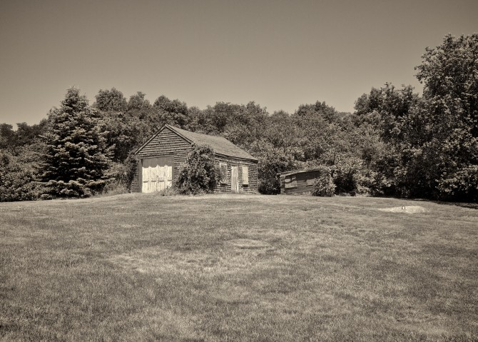 old shed_sepia