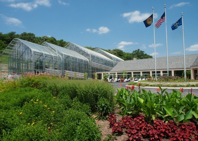 Daugherty Conservatory and Visitor / Education Center