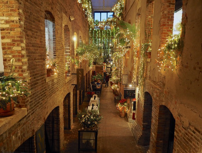Old Market Passageway Lights