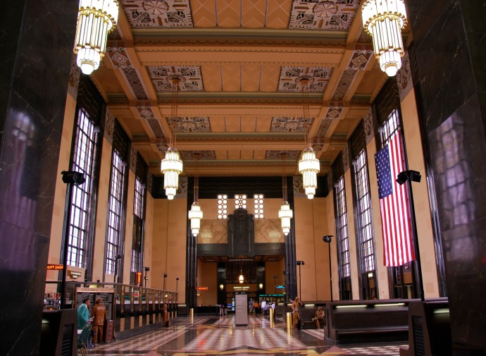 Inside Omaha Union Station